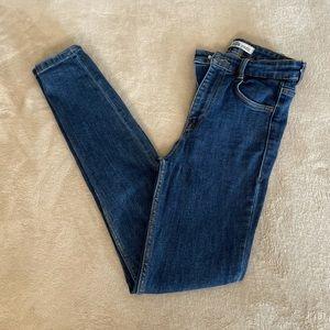Zara Authentic Skinny Blue Jeans - Size 2